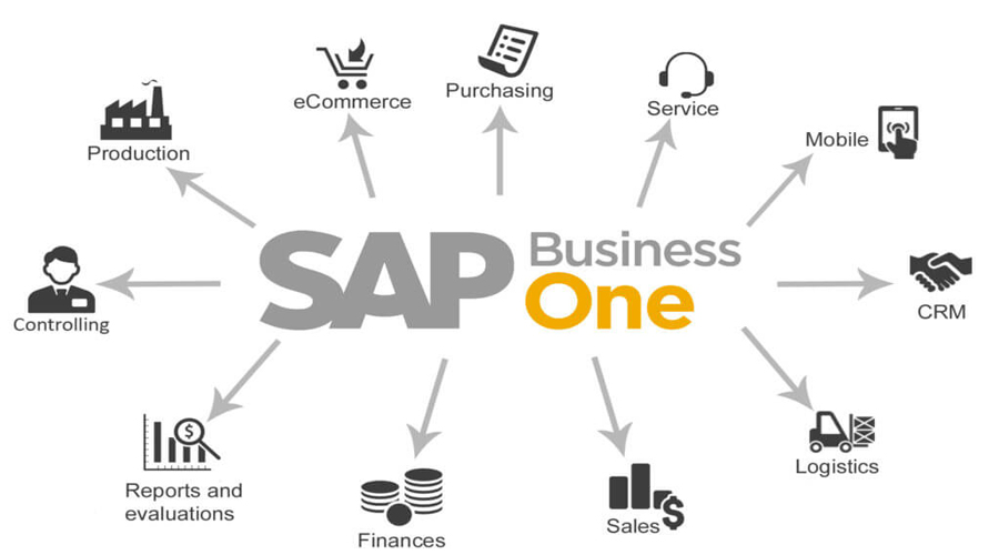 We are SAP Business One. We are Industry
